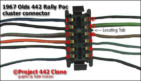442rallypac connector my 442 rally pac dash assembly (under construction)  at bayanpartner.co